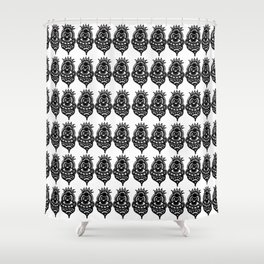 Jester Pattern Shower Curtain