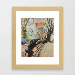 Future Rider Framed Art Print