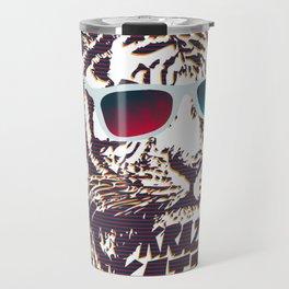 Crazy Tiger Travel Mug