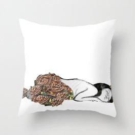 The Sleeping Centaur Throw Pillow