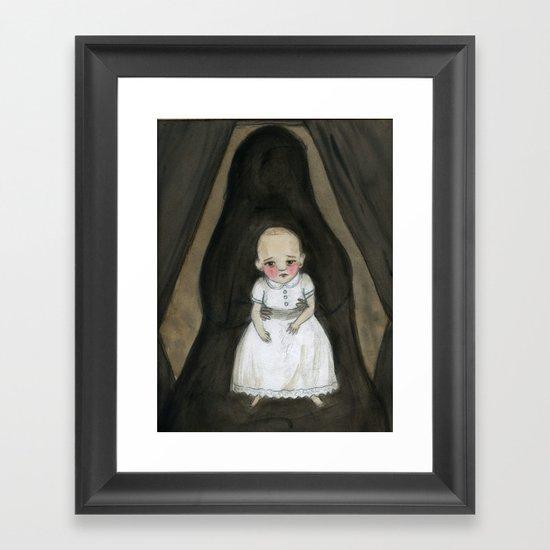 The Hidden Mother Framed Art Print