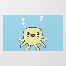 Kawaii Octopus Rug