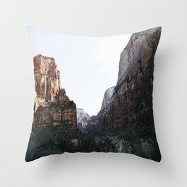 Zion National Park II Throw Pillow