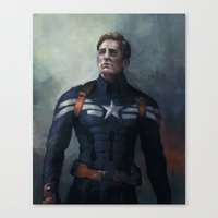 captain Canvas Prints featuring Captain by charlotvanh