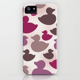 AL AQUA DUCK: Lipstick iPhone Case