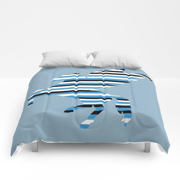 Pegasus Stripes 2 Comforters
