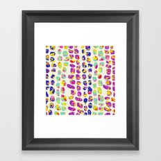 Marching Stones Framed Art Print