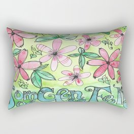 SOMOS GENTE FELIZ II Rectangular Pillow