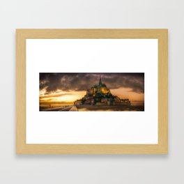 Le Mont Saint-Michel Framed Art Print