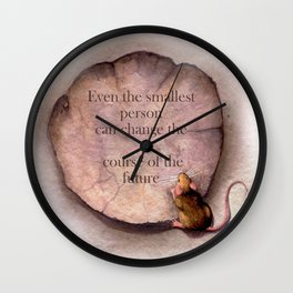 Even the Smallest Wall Clock