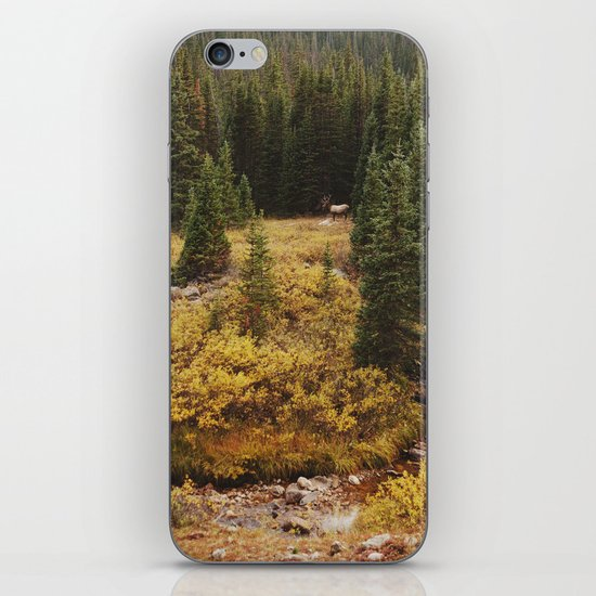 Rocky Mountain Creek Elk iPhone Skin