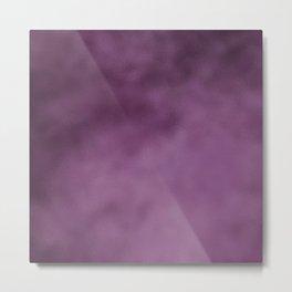 Modern abstract dark purple burgundy gradient Metal Print