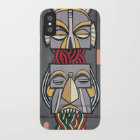 totem iPhone & iPod Cases featuring Totem by Sébastien BOUVIER