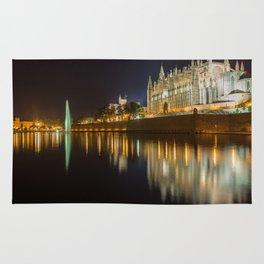 Palma Cathedral - Palma de Mallorca Spain Rug
