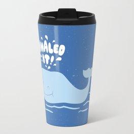 Whaled It Travel Mug