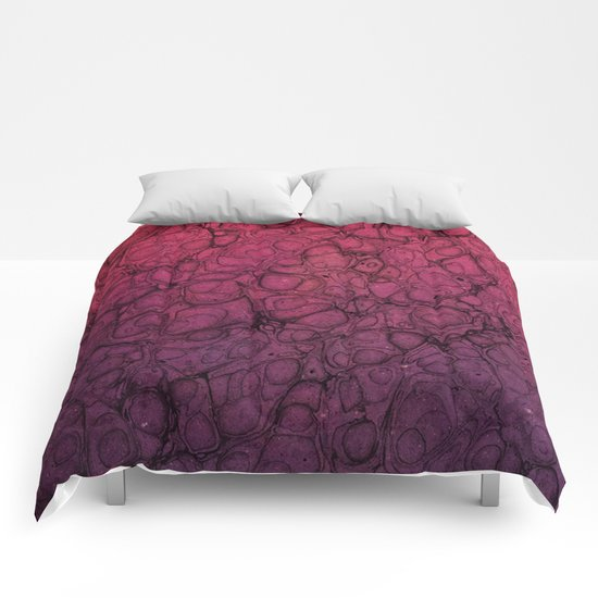Pink Pattern 56 Comforters