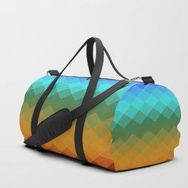 Rombs Vintage colors Duffle Bag