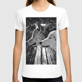 WOLF OF THE NIGHT FOREST T-shirt