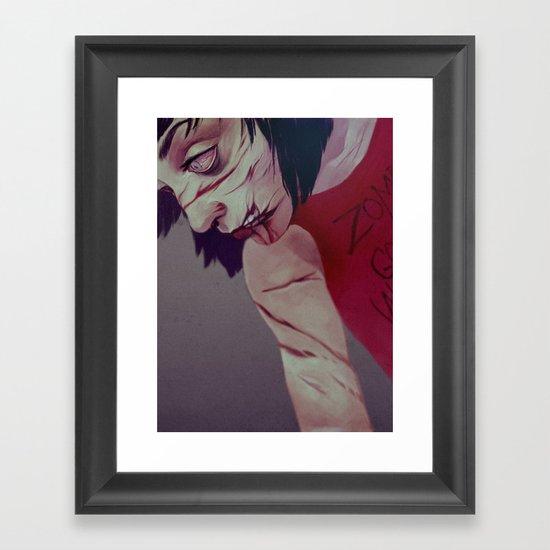 zombiesgonewild Framed Art Print