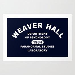 Weaver Hall Art Print