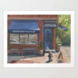 Campbell Cheese Shop Art Print