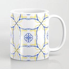 Azulejo Luso - Portuguese Tiles yellow Coffee Mug
