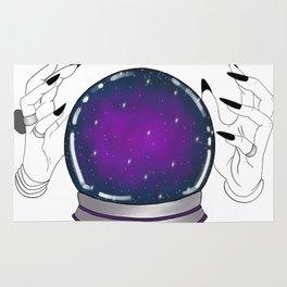 crystal ball Rug