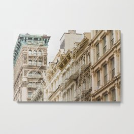 Soho Neutrals - NYC Photography Metal Print