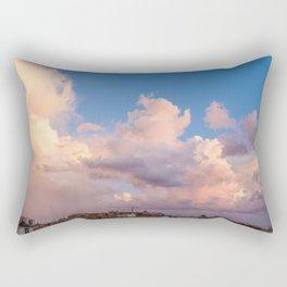 Sky on the bay of Naples Rectangular Pillow