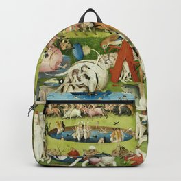The Garden of Earthly Delights by Hieronymus Bosch Backpack