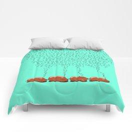 Schlafenwurst Comforters