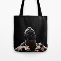 league Tote Bags featuring League of Shadows by Chuck Jackson