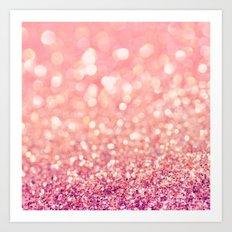 Blush Deeply Art Print