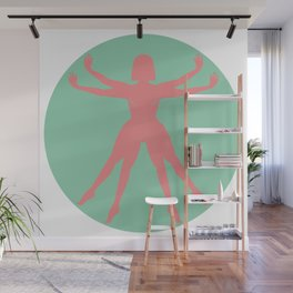 The Earthian woman Wall Mural
