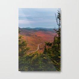 Franconia Notch Views Metal Print
