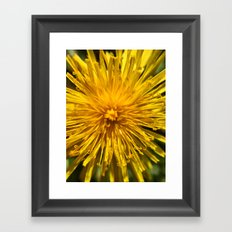 Yellow Love Framed Art Print