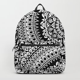 Tribal Inspired Mandala B Backpack