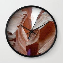 ANTELOPE CANYON VIII Wall Clock