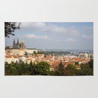 prague Area & Throw Rugs featuring Prague by Veronika