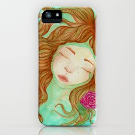 Sometimes it's Hard to Tell the Water From My Tears iPhone Case