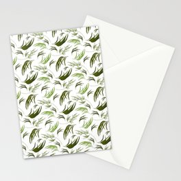 Cute Eucalyptus Leaves - Gorgeous Print Stationery Cards