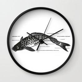 Koi Japanese fish Wall Clock