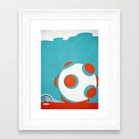 katamari Framed Art Prints featuring AXOR Heroes - Katamari by Studio Axel Pfaender
