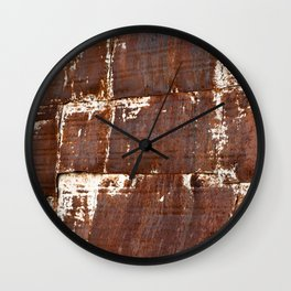 Grunge Texture 7 Wall Clock