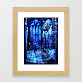 Determination Framed Art Print