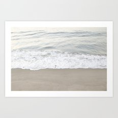 Shore Mornings Art Print