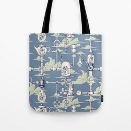 Apnea City Tote Bag