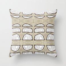 Mounds Throw Pillow