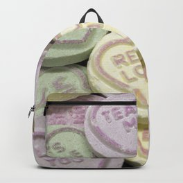 Love heart sweet words Backpack