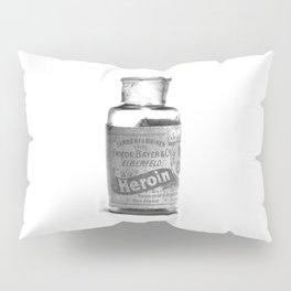 Vintage Heroin Medicine Bottle Pillow Sham